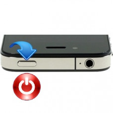 iPhone 4s power knap reparation billig pris