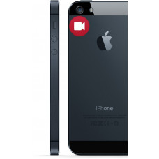 iPhone 5 bag kamera Udskiftning reparation billig pris