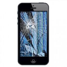 iPhone 5 skærm udskiftning reparation billig pris