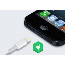 iphone 5 Ladestik stik udskiftning reparation billig pris,