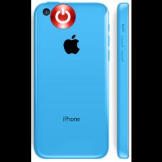 iPhone 5c power knap Udskiftning reparation billig pris
